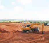 Obras da ETA Vitória Régia estão na etapa de terraplanagem