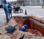 Saae realiza remoção de obstáculo para garantir implantação do BRT