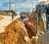 Programa 100% Esgoto Tratado investe R$ 1,5 milhão no Jacutinga, inclusive com obras sob linha férrea