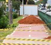 Intervenções do BRT interrompem abastecimento de água em bairros da Zona Norte