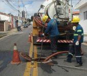 Saae-Sorocaba faz manutenções na Zona Leste
