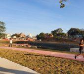 Prefeitura e Saae entregam a segunda e última bacia do  Reservatório de Detenção de Cheias Água Vermelha