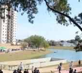 População comemora a entrega do Reservatório de Detenção de Cheias
