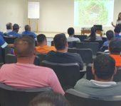 Equipes de roçagem do Saae recebem  treinamento para preservação da biodiversidade