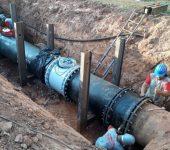 Abastecimento será interrompido para ação  do programa de combate às perdas de água