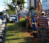 Vazamento interrompe  abastecimento em parte do Campolim