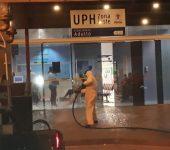 Coronavírus: 1ª semana de desinfecção foi  completada com UPH Leste e UPA do Éden
