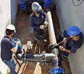Saae conclui instalação de mais uma válvula reguladora