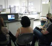 Profissionais de laboratório do Saae participam de treinamento
