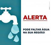 Manutenção preventiva interrompe abastecimento 3ª feira