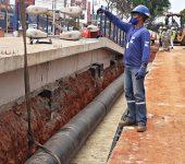 Concluído mais um remanejamento de rede para obra do BRT