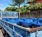 """Prefeitura e Saae ampliam """"Caixa D'água Social"""" para atender mais 300 famílias."""