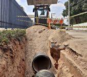 Concluídas obras de ampliação dosistema de drenagem na Zona Oeste