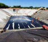 Saae/Sorocaba informa que 25% das obras de ampliação da ETE Pitico já estão concluídas.