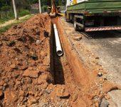 Saae realiza troca de rede subterrânea de água que atende parte da Zona Oeste.