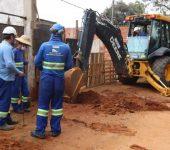 Saae inicia nova fase de implantação de rede de esgoto no bairro Jacutinga.