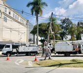 Acidente de trânsito deixa Unidade Central do SAAE-Sorocaba sem energia elétrica.