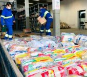 Saae-Sorocaba arrecada 417 cestas básicas para a campanha #AFOMENAOEFAKE.