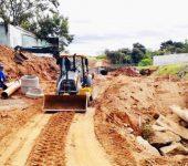 Saae-Sorocaba finaliza remanejamento de rede de esgoto na Zona Oeste.
