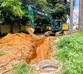 Saae-Sorocaba inicia implantação de rede de esgoto na Zona Sul.