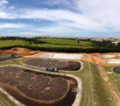 Obras de ampliação da ETE Pitico avançam para 35% do total previsto.