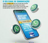 Saae-Sorocaba amplia serviços que podem ser solicitados via WhatsApp.