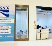 Saae-Sorocaba inaugura nova Central de Atendimento no Pátio Cianê Shopping.