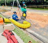 Saae orienta sobre utilização correta da rede de esgoto para evitar vazamentos.