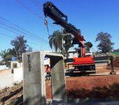Saae-Sorocaba instala aduelas em nova ponte de acesso a Araçoiaba da Serra