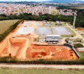 Obras de ampliação da ETE Pitico já chegam a 44% do total