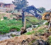 Saae-Sorocaba realiza nova manutenção no córrego na Vila Barão