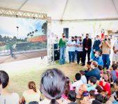 """Dia das Crianças no Vitória Régia tem diversão e entrega da revitalização do Parque """"Amedeo Franciulli"""" para toda a comunidade"""