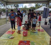 Comemorações do Dia das Crianças têm encerramento em Brigadeiro Tobias com muitas brincadeiras e doces
