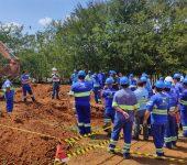 Saae-Sorocaba qualifica sétima turma de servidores em técnicas de segurança para escavações
